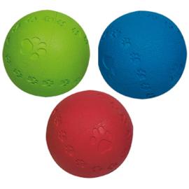 Rubberen bal met piep, vanaf