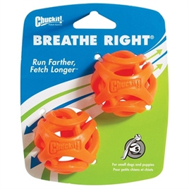 Chuckit! Breathe Right Fetch Ball S 2 st