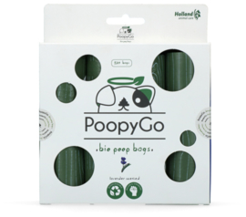 PoopyGo Eco friendly 120 st. (8x15 zakjes) Lavendelgeur