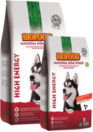 Biofood High Energy 3kg of 12,5kg. Vanaf