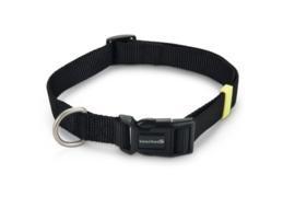 BZ Nylon Halsband Zwart 48-70cm