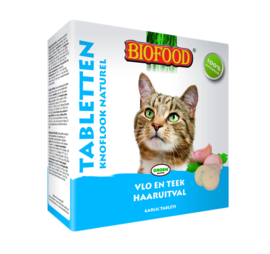 Biofood Kat Anti-Vlo Naturel 100st