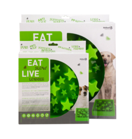 Eat Slow Live Longer Star Green L