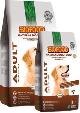 Biofood Adult Krokant 12,5kg, 2 zakken voor € 77,50