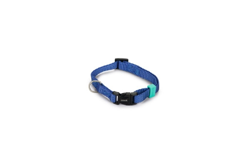 BZ Nylon Halsband Blauw 20-30cm