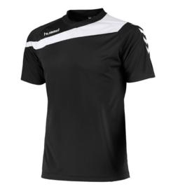 Hummel elite t-shirt zwart/wit (160100-8200)