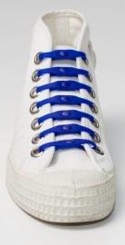 Shoeps veter elastisch BLAUW