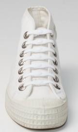Shoeps veter elastisch WIT