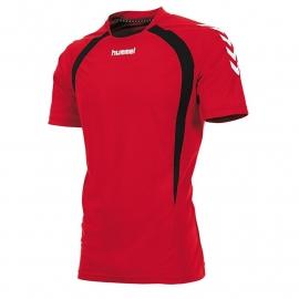 Hummel Team T-shirt rood/zwart (160105-6820)