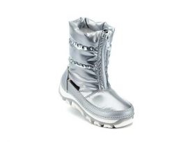 Bergstein Snowboot Girls 120 Zilver