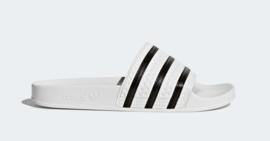 280648 Adidas Adilette slipper  |  wit/zwart