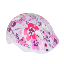 Tempish Flower skate set + bescherming + rugzak - wit/roze