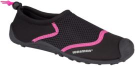 13AT WATERSCHOENEN • Wave Rider Zwart/Roze•  maat 22 t/m 46!