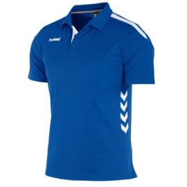 Hummel Valencia polo blauw  (163002-5200)