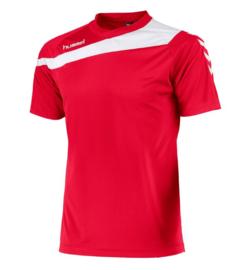 Hummel elite t-shirt rood/wit (160100-6200)