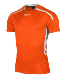 Hummel Preston shirt oranje/wit (110005-3200)