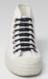 Shoeps veter elastisch ZWART