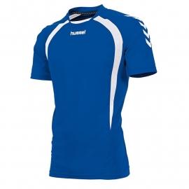 Hummel Team T-shirt blauw/wit (160105-5200)