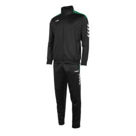 Hummel Valencia poly suit zwart/groen (105006-8100)