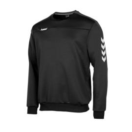 Hummel  Valencia top round neck  zwart/grijs (108007-8900)