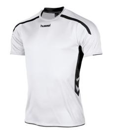Hummel Preston shirt wit/zwart (110005-2800)