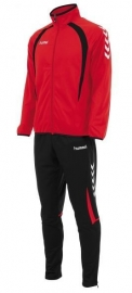 Hummel Team poly suit rood/ zwart (105101-6820)