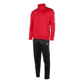 Hummel Valencia poly suit rood/zwart (105006-6800)