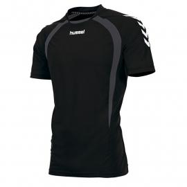Hummel Team T-shirt zwart/grijs (160105-8960)