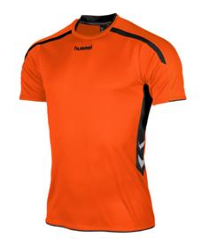 Hummel Preston shirt oranje/zwart (110005-3800)