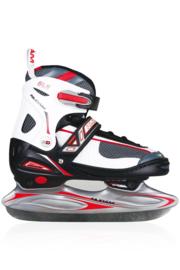 2208    Nijdam IJshockeyschaats Junior Verstelbaar • softboot (ALLEEN maat 34-37)