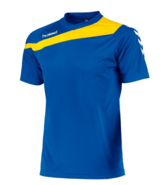 Hummel elite t-shirt blauw/geel (160100-5400)
