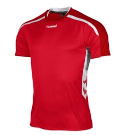 Hummel Preston shirt rood/wit (110005-6200)