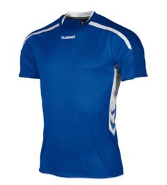Hummel Preston shirt blauw/wit (110005-5200)