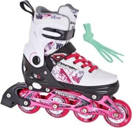 Tempish Daco Inline Skates verstelbaar  junior roze/wit