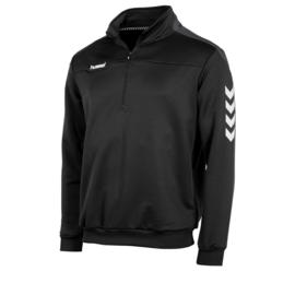 Hummel   Valencia ¼ zip zwart/grijs  (108009-8900)