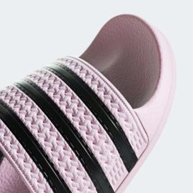 CG6148 Adidas Adilette slipper   roze/zwart