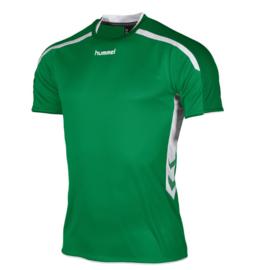 Hummel Preston shirt groen/wit (110005-1200)