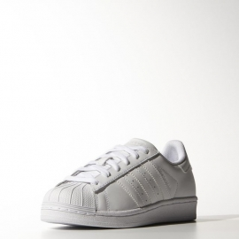 B23641 ADIDAS Superstar Foundation J White/white