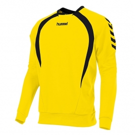 Hummel Team top round neck geel/zwart (108108-4800)