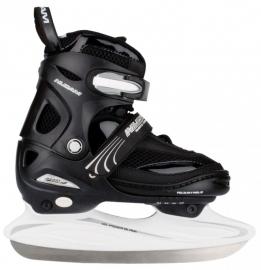OUTLET  3150   Nijdam IJshockeyschaats Junior Verstelbaar • Semi Softboot | DOOS KAPOT