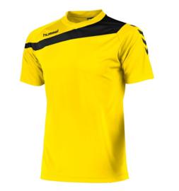 Hummel elite t-shirt geel/zwart (160100-4800)