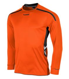Hummel preston shirt lang oranje/zwart (111005-3800)