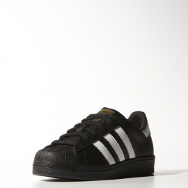 B23642 ADIDAS Superstar Foundation J Black/white
