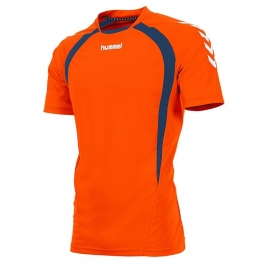 Hummel Team T-shirt oranje/navy (160105-3750)