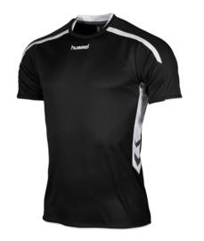 Hummel Preston shirt zwart/wit (110005-8000)
