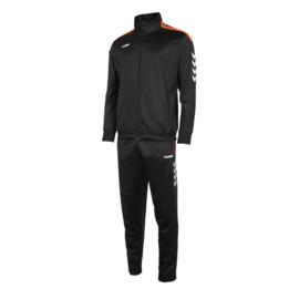 Hummel Valencia poly suit zwart/oranje (105006-8300)