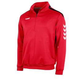 Hummel   Valencia ¼ zip  rood (108009-6800)