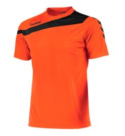 Hummel elite t-shirt oranje/zwart (160100-3800)