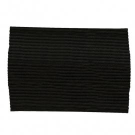 Stanno zwarte armband rouwarmband (489103-0000)