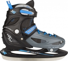 3070  Nijdam IJshockeyschaats Junior Verstelbaar • Hardboot